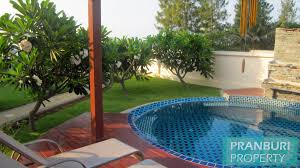 beach front pool house for long term rent south of hua hinpranburi
