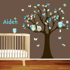large nursery wall decals large nursery wall decals vinyl wall decal stickers owl tree set