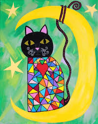 Items Similar To Art Print - 653 best just cats images on pinterest kitty cats mexican