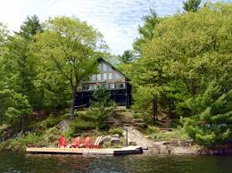 Cottages For Rent On Lake Simcoe by Cottage 228 For Rent On High Lake Near Rosseau In District Of
