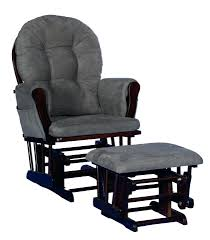 Delta Glider And Ottoman Chocolate Glider And Ottoman Modern Upholstered Recliner Sky