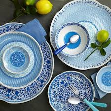 q squared ny q2 melamine dinnerware flatware clearance sale