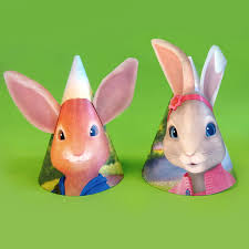 peter rabbit bunny ear birthday party hats nickelodeon parents