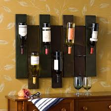 home bar wall decor furniture awesome wine holder for wall as storage and wall decor