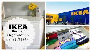 ikea clothes storage tips budget friendly u0026 organized youtube