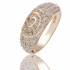 new rings images images R069 wholesale 18k rose gold plated rings new fashion jewelry jpg