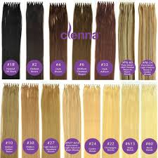 amazon com 20 inch u tip nail tip fusion hair extensions