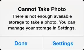 iphone cannot take photo top 10 tips to free up space on iphone and ipad imobie