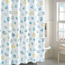 Blue And Yellow Shower Curtains Astounding Light Yellow Shower Curtain Images Best Inspiration