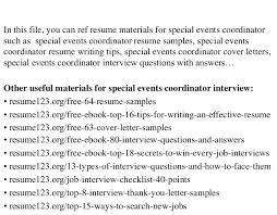 doc 638825 event planning resume u2013 planner resume 92 related