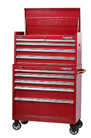 husky 27 in 8 drawer tool chest and cabinet set husky 37 inch 10 drawer tool chest and cabinet metallic red the