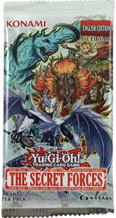 yu gi oh cards the secret forces booster pack 5 foil cards