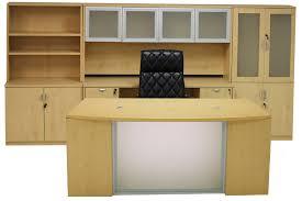 Maple Office Desks Front Maple Conference Desk