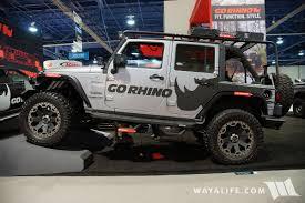 2016 Sema Go Rhino Jeep Jk Wrangler