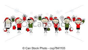 christmas friends cute dog with santa u0027s hat and cat with