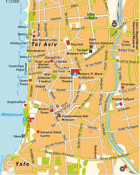 Map Of Dallas by Maps Of Dallas Map Of Tel Aviv