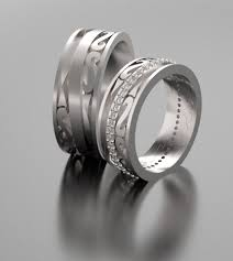wedding rings his hers his and hers wedding bands with diamonds custom rings vidar