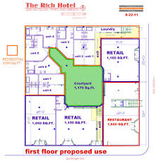 Floor Plans With Courtyard Innovative Housing Inc Housing The Rich Building