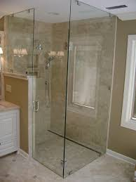 Corner Shower Glass Doors Showers Solon Glass