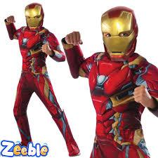 halloween costumes for kids superhero kids captain america or iron man costume civil war boys superhero