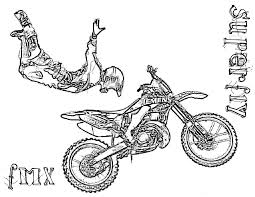 dirt bike coloring pages superman coloringstar