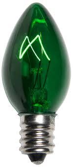 c7 light bulb c7 green light bulbs transparent