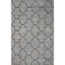 Blue And Grey Area Rug Red Barrel Studio Archer Lane Jute And Wool Blue Naturals Area Rug