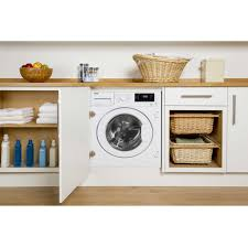 beko wdir7543101 integrated 7kg 5kg washer dryer with 1400 rpm
