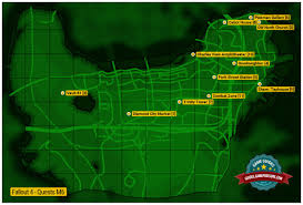 Boston Station Map by Center Of Boston Map M6 Fallout 4 Game Guide U0026 Walkthrough