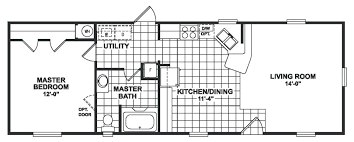 trailer floor plans single wides mobile home plans single wides charming ideas 1 bedroom homes wide