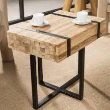 table d appoint pour canapé bout de canapé table d appoint en teck