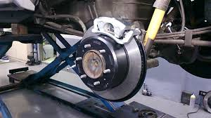 toyota tacoma upi rear drum to disc conversion kit installation