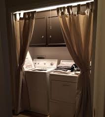 attractive laundry room curtain inspiration with laundry room