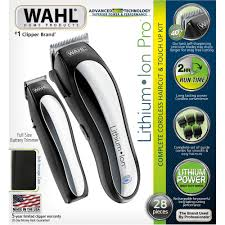 wahl home products lithium ion cordless clippers walmart com