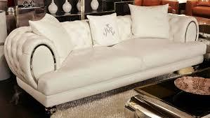 Tufted Leather Sofa Set by Aico Ellia Mansion Sofa Cream Tufted Leather U2022 Usa Furniture Online