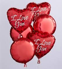 valentines day baloons i you balloon bunch judy s flowers