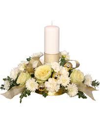 florist ocala fl ivory light centerpiece floral arrangement in ocala fl blue