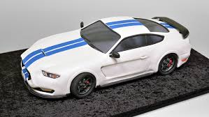 3d cake 3d sedan car cake ford mustang shelby yeners way
