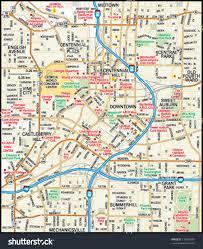 Atlanta Neighborhood Map by Map Of Atlanta Map Of The World