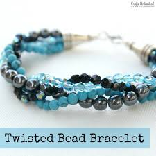 bracelet make images How to make a bracelet with twisted bead strands jpg