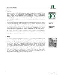 sample company resume company profile sample the company profile sample construction
