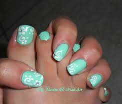 tiffany u0026 co nail art mani e piedi simple hand u0026 toe nail art