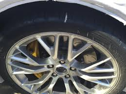 corvette stingray tires michelin issues statement to corvette forum about cracked c7 tires