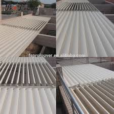 Waterproof Pergola Covers by Made In China New Product Balcony Pergola Opening Roof Aluminum
