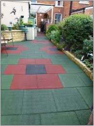 rubber patio tiles for outside patios home decorating ideas