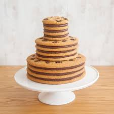 moustache 3 tiered cookie cake u2013 moustache milk u0026 cookie bar
