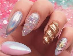 so 3d unicorn nails are a thing now u2026