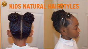 hairstyles using rubber bands kids natural hairstyles the rubber band buns youtube