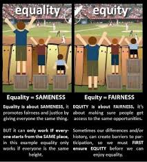 the difference between educational equality equity and justice