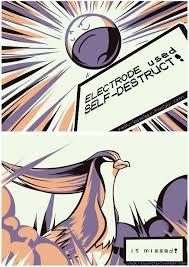 Twitch Plays Pokemon Twitch Plays Pokemon Know Your Meme - electrode used self destruct twitch plays pokemon know your meme